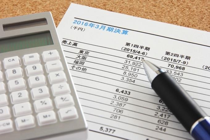 損益計算書から営業マンにかけるコストを考える